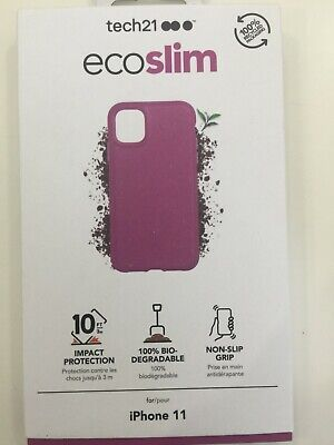 Tech21 EcoSlim Biodegradable Case for iPhone 11 NEW