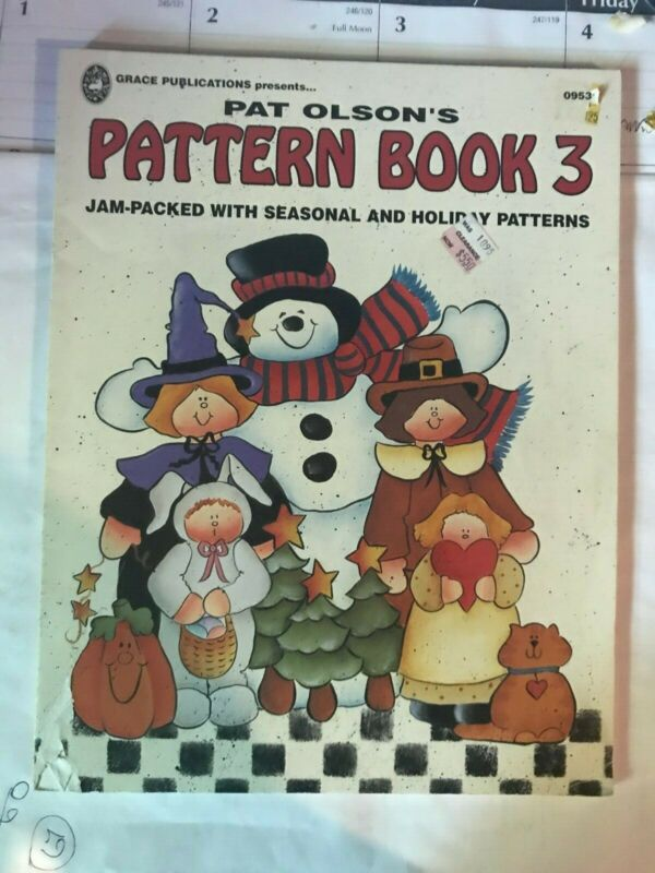 Pat Olson pattern book 3 Jam-packed with seasonal and Holiday patterns