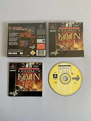 Blood Omen: Legacy Of Kain - Black Label - PlayStation 1 PS1 - Free P+P