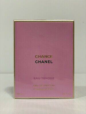 CHANEL CHANCE EAU TENDRE PERFUME FOR WOMEN SPRAY EDP 3.4 oz 100 ml SEALED IN BOX