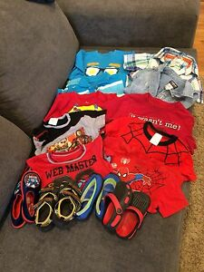 2t/3T boy tshirts and shoes