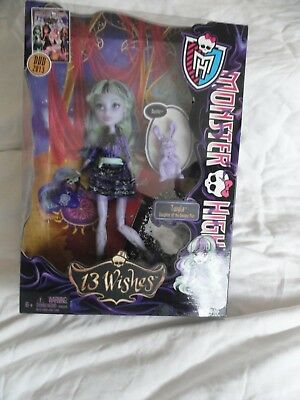 Monster High TWYLA 13 Wishes Doll With Pet Bunny Dustin New In Box 2012