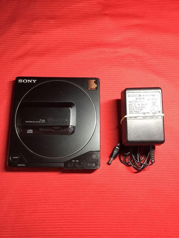 Sony D-25 Portable Discman Vintage Audiophile CD Player Digital Audio D-250