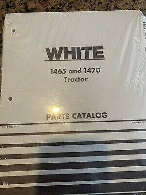 Wfe White 1465 And 1470 Tractor Parts Catalog Catlogue