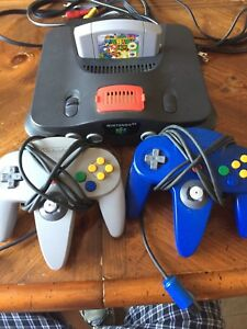 N64 with Mario 64