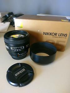 Mint Condition Nikon 85mm 1.8D Prime Englorie Park Campbelltown Area Preview