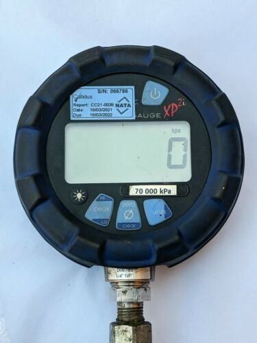 Crystal Engineering XP2i Digital Test Gauge Pressure 70000 kPa 10000 PSI