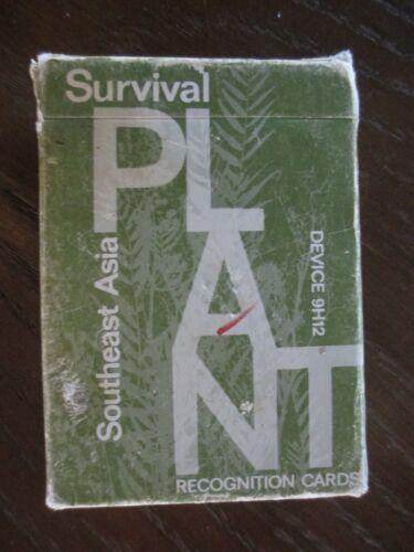 SURVIVAL PLANT RECOGNITION CARDS