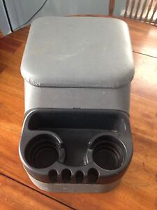 Car or truck cup holder console