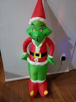 DR SEUSS HOW THE GRINCH STOLE CHRISTMAS 4 FOOT AIRBLOWN INFLATABLE GEMMY 2000