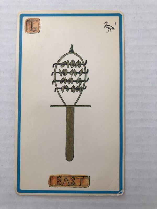 Cartouche Bast Card 4 Single Card Only No Box
