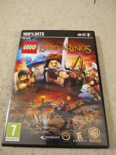 LEGO The Lord Of The Rings PC DVD Video Game - $14.99