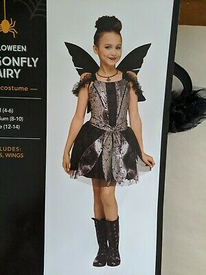 Dragonfly Fairy Children's Costume Small 4-6 Dress Up