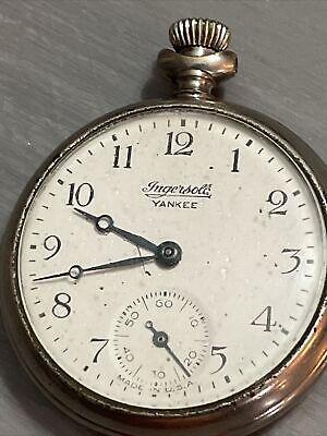 vintage Ingersoll Yankee. pocket watch 1920's