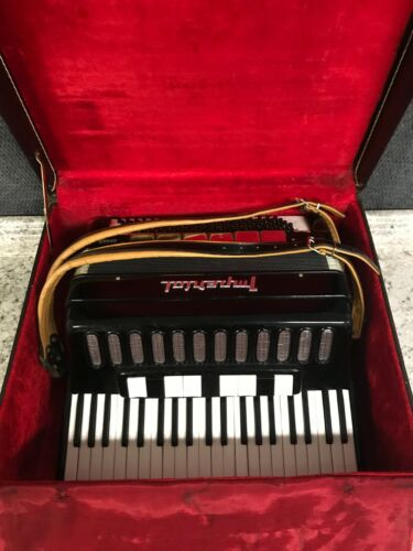 Imperial Queen Accordion w/ Case ~ Missing 2 Buttons