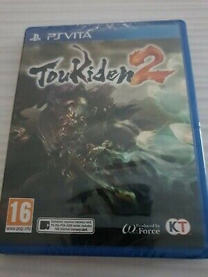 TOUKIDEN 2 Sony PS VITA _ UK ENGLISH GAME _ NEW &...