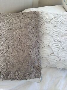 French Provincial Lace Cushion Covers Kingsholme Gold Coast North Preview