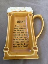 Vintage ceramic ashtray Beer Calamvale Brisbane South West Preview