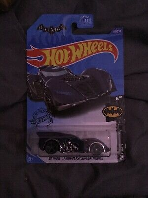 Hot Wheels 2020 Treasure Hunt BATMAN ARKHAM ASYLUM BATMOBILE 5/5 106/250