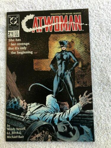 Catwoman #2 (Mar 1989, DC) Mature VF+ 8.5