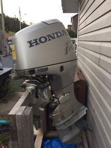 50 horsepower Honda outbound motor