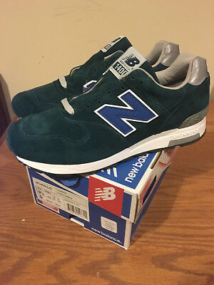 New Balance J Crew 1400 JJ2 Turquoise Green Size 9.5 Made In USA New