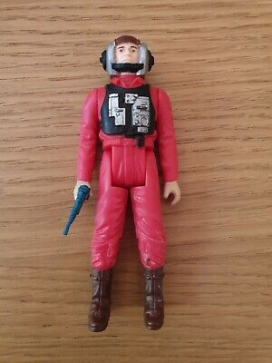 Star wars vintage B Wing pilot ***REPRO GUN*** Excellent condition