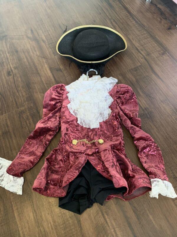 Pirate Dance Costume Size Small Child