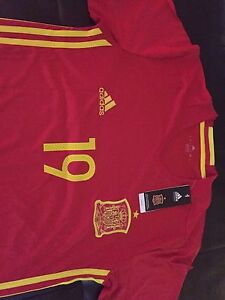 Spain Red 2016 jersey