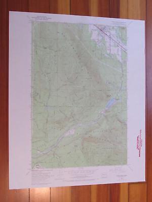 North Bend Washington 1969 Original Vintage USGS Topo (North Bend Washington Map)