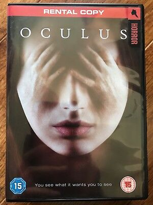 Karen Gillan, Brenton Thwaites OCULUS ~ 2014 Cult Horror Film UK Rental DVD - Halloween Films Uk