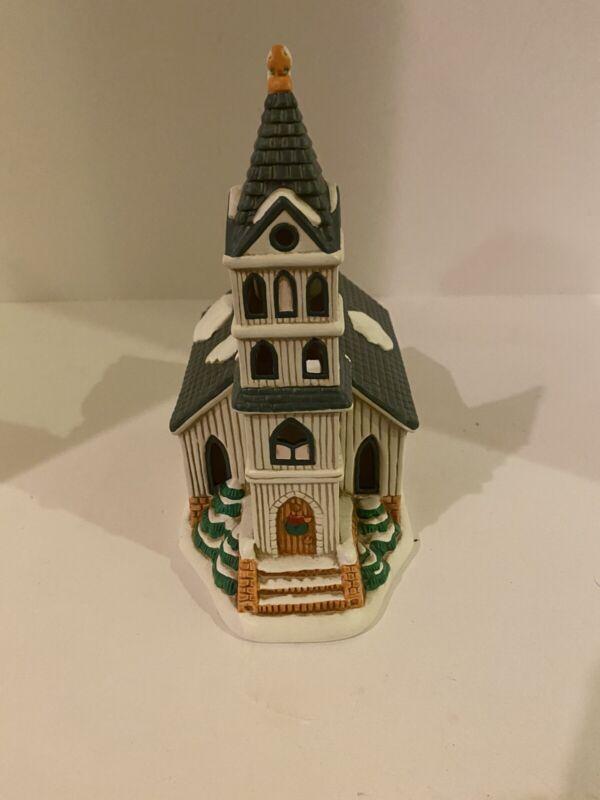 lefton colonial village—1989 Colonial Village Church(Display) NoBox(07333)