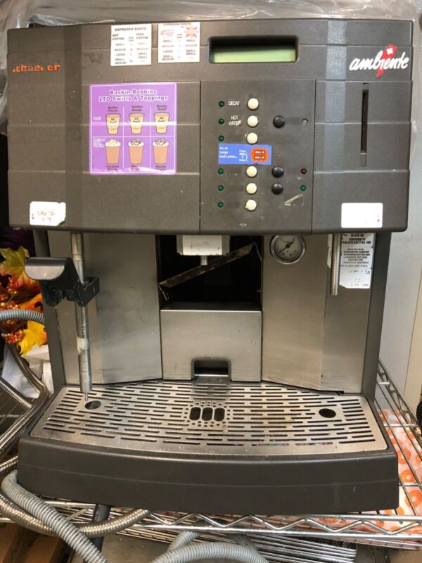 Schaerer Ambiente PS Automatic Espresso Machine