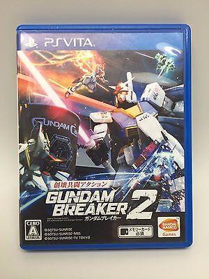 USED PS VITA Gundam Breaker 2 Bandai namco entertainment