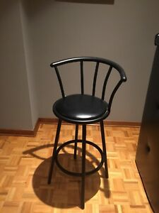 Matte Black bar stools