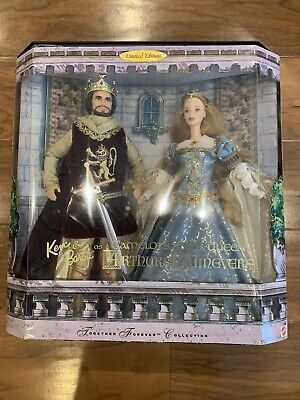 BARBIE Camelot's King & Queen Set - Arthur and Guinevere *READ DESCRIPTION *