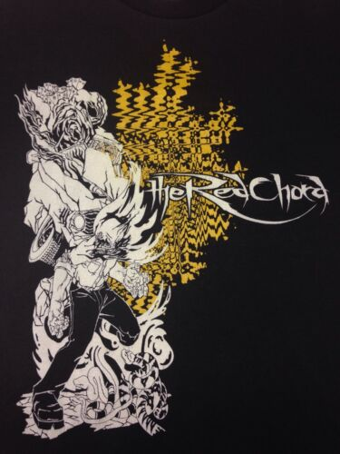 The Red Chord 2-sided Black Small T-shirt Extreme Technical Death Metal Woyzeck