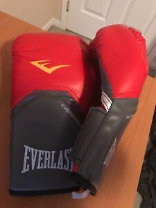 Boxing gloves Everlast red