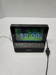 Sony Dream Machine ICF-CL75IP AM FM Radio Alarm Clock Ipod Dock