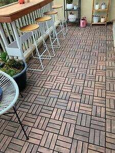 Transform your balcony or patio with ikea Runnen decking