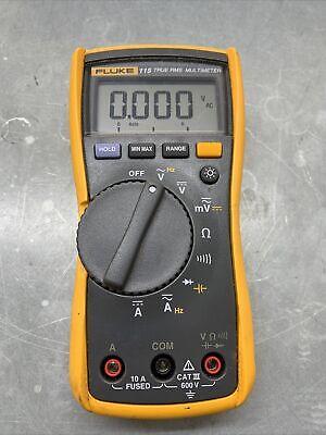 Fluke 115 True-rms Digital Multimeter No Leads