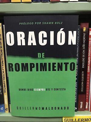 Oración de rompimiento [Spanish] by Guillermo Maldonado Paperback October 2 2018