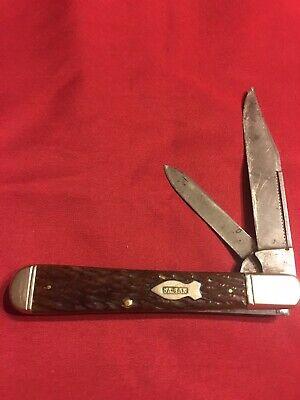 Vintage Kabar Union Cut Large English Jack pocket knife