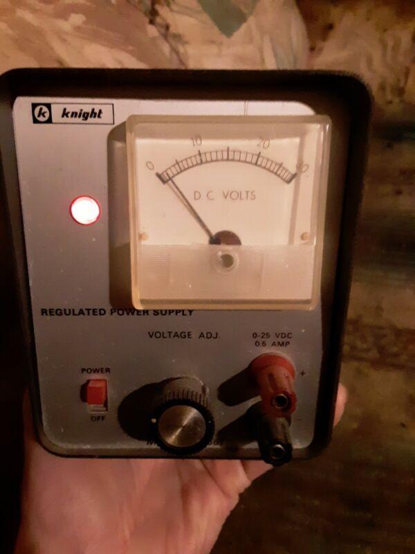 Knight Model KG-661 Regulated Power Supply