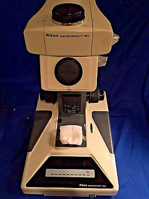 Nikon Microphot-sa Research Grade Upright Microscope Stand Only