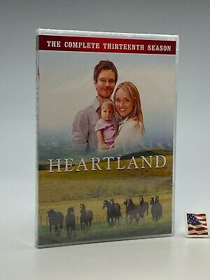 HEARTLAND: Complete Season 13 Thirteen (4-DVD, 2020) Latest Season REG1 US/CA