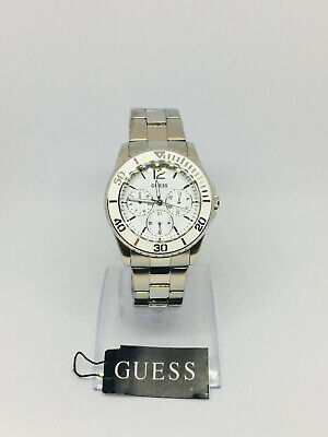 Guess Women's Silver Stainless-Steel Quartz Watch U10598L1