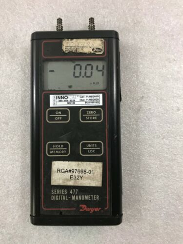 Dwyer Series 477 Digital Manometer  (D06)