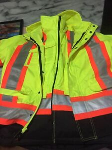 5 in 1 work jacket