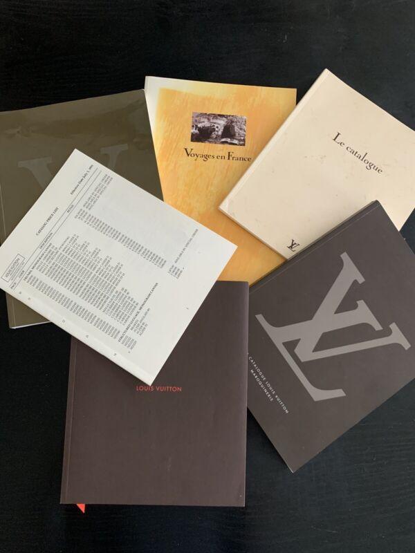 Louis Vuitton Vintage Modern Rear Collector's Catalogs  1991 Price List